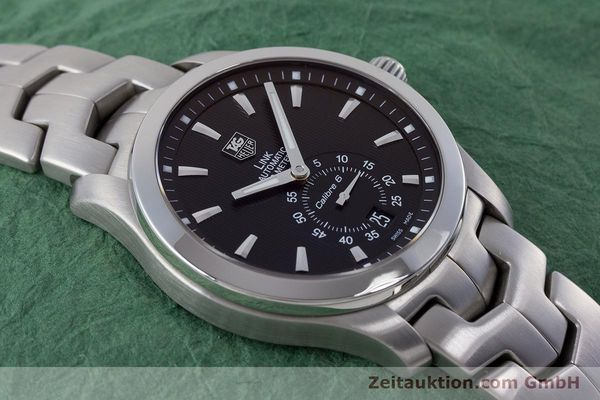 Used luxury watch Tag Heuer Link steel automatic Kal. 6 Ref. WJF211A  | 160474 16