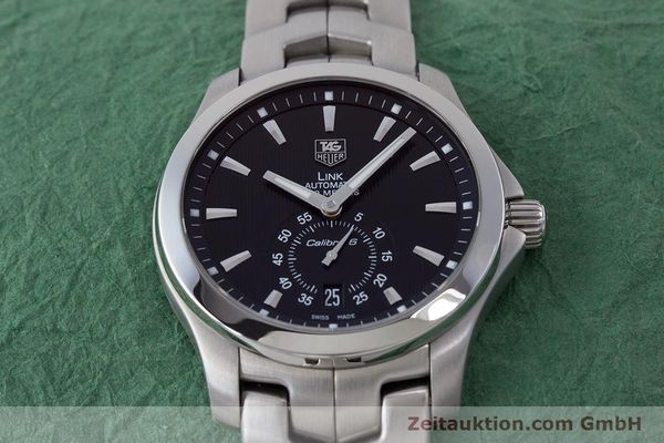 Used luxury watch Tag Heuer Link steel automatic Kal. 6 Ref. WJF211A  | 160474 17