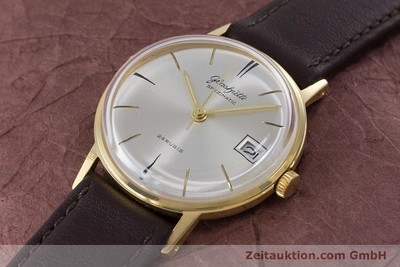 GLASHÜTTE SPEZIMATIC GOLD-PLATED AUTOMATIC KAL. 75 VINTAGE [160475]