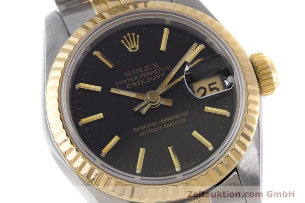 Used luxury watch Rolex Lady Datejust steel / gold automatic Kal. 2135 Ref. 69173  | 160479 02