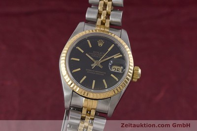 ROLEX LADY OYSTER DATEJUST GOLD / STAHL DAMENUHR AUTOMATIK 69173 VP: 6950,- EURO [160479]