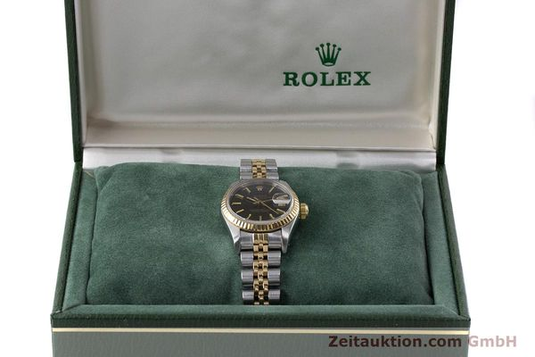 Used luxury watch Rolex Lady Datejust steel / gold automatic Kal. 2135 Ref. 69173  | 160479 07