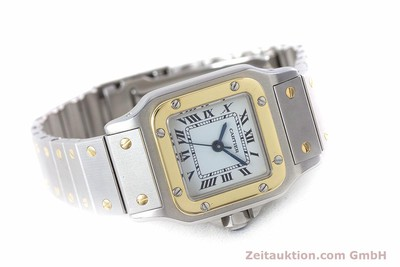 CARTIER SANTOS STEEL / GOLD AUTOMATIC KAL. ETA 2671 LP: 5600EUR [160480]