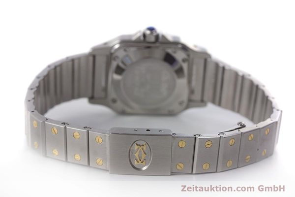 Used luxury watch Cartier Santos steel / gold automatic Kal. ETA 2671  | 160480 10