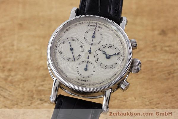 CHRONOSWISS KAIROS CHRONOGRAPHE ACIER AUTOMATIQUE KAL. 753 LP: 6100EUR [160483]