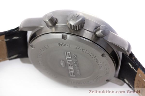 Used luxury watch Fortis Flieger Chronograph chronograph steel automatic Kal. ETA 7750 Ref. 597.10.141  | 160488 08
