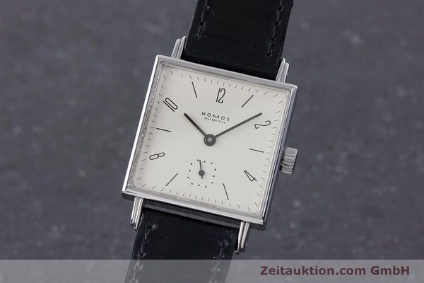 NOMOS TETRA STEEL MANUAL WINDING KAL. ETA 7001 LP: 1580EUR [160495]