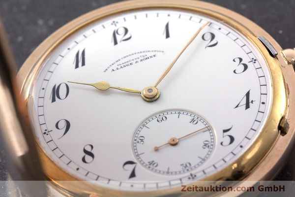 Used luxury watch A. Lange & Söhne DUF 14 ct yellow gold manual winding Kal. 41  | 160497 02