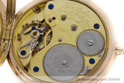 A. LANGE & SÖHNE DUF 14 CT YELLOW GOLD MANUAL WINDING KAL. 41 [160497]