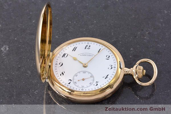 Used luxury watch A. Lange & Söhne DUF 14 ct yellow gold manual winding Kal. 41  | 160497 17