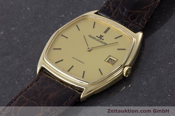 Used luxury watch Jaeger Le Coultre * 18 ct gold automatic Kal. 900  | 160501 01