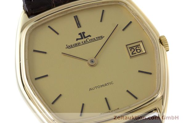 Used luxury watch Jaeger Le Coultre * 18 ct gold automatic Kal. 900  | 160501 02