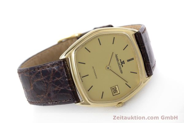 Used luxury watch Jaeger Le Coultre * 18 ct gold automatic Kal. 900  | 160501 03