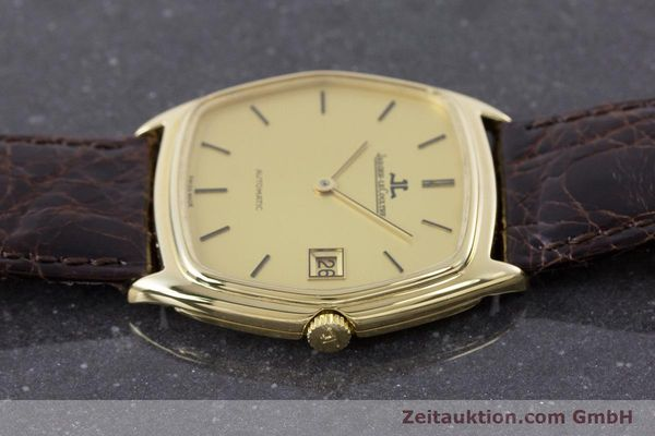 Used luxury watch Jaeger Le Coultre * 18 ct gold automatic Kal. 900  | 160501 05