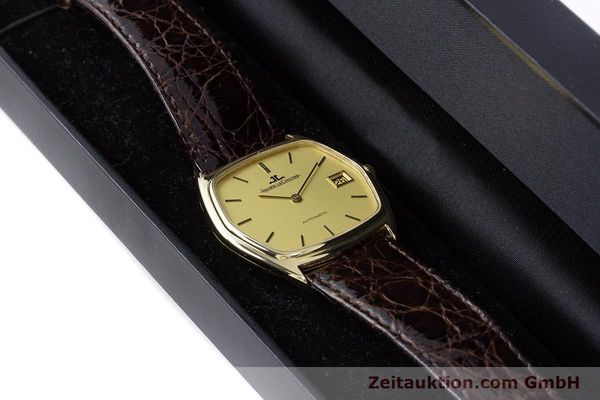 Used luxury watch Jaeger Le Coultre * 18 ct gold automatic Kal. 900  | 160501 07