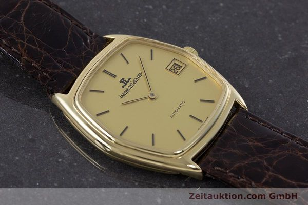 Used luxury watch Jaeger Le Coultre * 18 ct gold automatic Kal. 900  | 160501 13