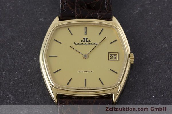Used luxury watch Jaeger Le Coultre * 18 ct gold automatic Kal. 900  | 160501 14