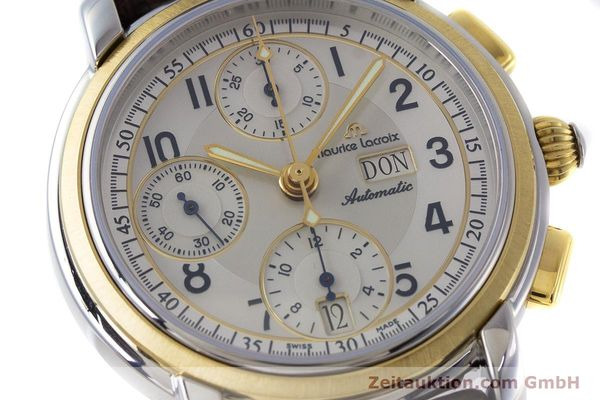 Used luxury watch Maurice Lacroix Masterpiece chronograph ceramic / gold automatic Kal. ML67 ETA 7750 Ref. 67668  | 160504 02
