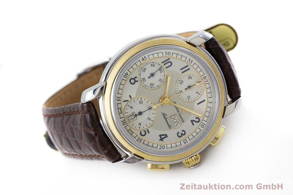 Used luxury watch Maurice Lacroix Masterpiece chronograph ceramic / gold automatic Kal. ML67 ETA 7750 Ref. 67668  | 160504 03