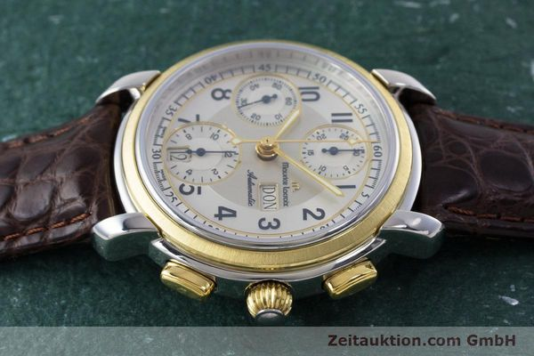 Used luxury watch Maurice Lacroix Masterpiece chronograph ceramic / gold automatic Kal. ML67 ETA 7750 Ref. 67668  | 160504 05