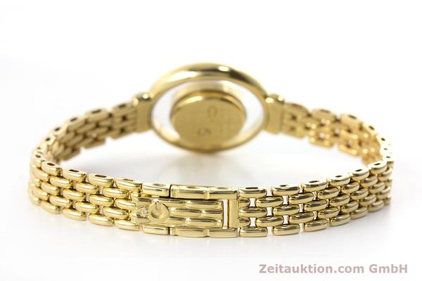 gebrauchte Luxusuhr Chopard Happy Diamonds 18k Gold Quarz Ref. 4100  | 160506 09