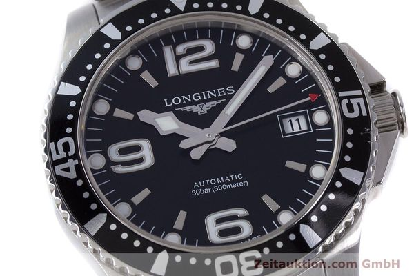 Used luxury watch Longines Hydro Conquest steel automatic Kal. L 633.5 ETA 2824-2 Ref. L3.641.4  | 160509 02