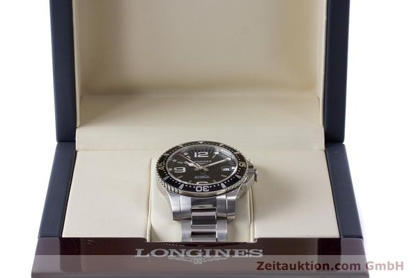 Used luxury watch Longines Hydro Conquest steel automatic Kal. L 633.5 ETA 2824-2 Ref. L3.641.4  | 160509 07