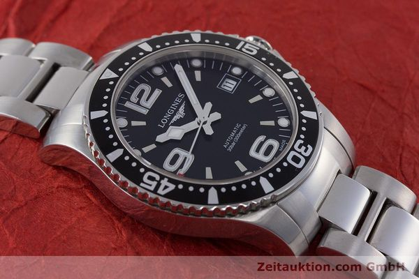 Used luxury watch Longines Hydro Conquest steel automatic Kal. L 633.5 ETA 2824-2 Ref. L3.641.4  | 160509 17
