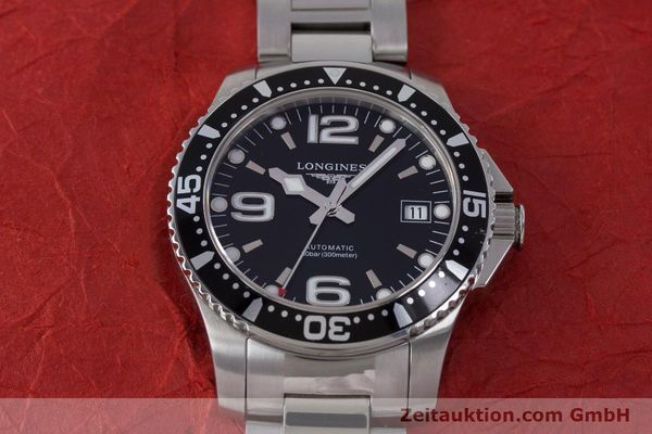 Used luxury watch Longines Hydro Conquest steel automatic Kal. L 633.5 ETA 2824-2 Ref. L3.641.4  | 160509 18