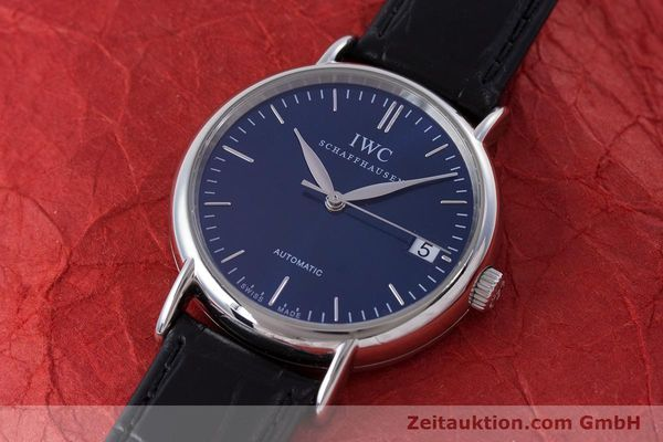 Used luxury watch IWC Portofino steel automatic Kal. 30110 Ref. 3564  | 160510 01