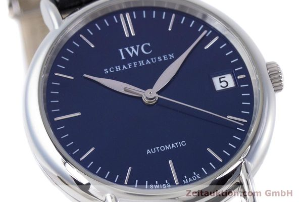 Used luxury watch IWC Portofino steel automatic Kal. 30110 Ref. 3564  | 160510 02