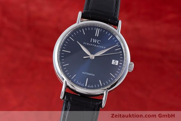 Used luxury watch IWC Portofino steel automatic Kal. 30110 Ref. 3564  | 160510 04