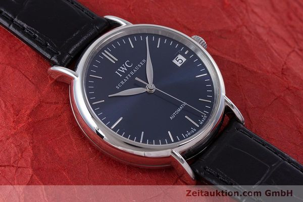 Used luxury watch IWC Portofino steel automatic Kal. 30110 Ref. 3564  | 160510 15