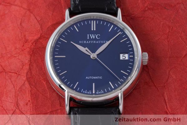 Used luxury watch IWC Portofino steel automatic Kal. 30110 Ref. 3564  | 160510 16