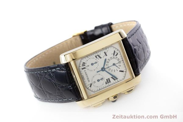 Used luxury watch Cartier Tank Francaise 18 ct gold quartz Kal. 212P Ref. 1830  | 160511 03