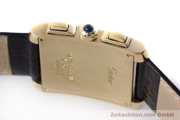 Used luxury watch Cartier Tank Francaise 18 ct gold quartz Kal. 212P Ref. 1830  | 160511 08