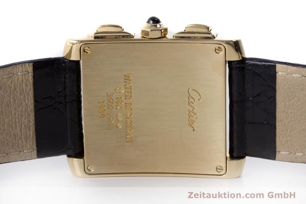 Used luxury watch Cartier Tank Francaise 18 ct gold quartz Kal. 212P Ref. 1830  | 160511 09