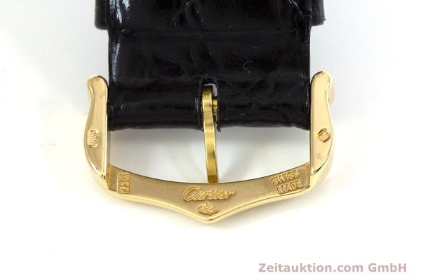 Used luxury watch Cartier Tank Francaise 18 ct gold quartz Kal. 212P Ref. 1830  | 160511 12