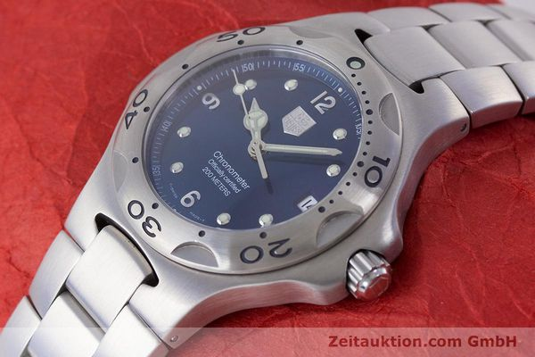 Used luxury watch Tag Heuer Kirium steel automatic Kal. ETA 2892-A2 Ref. WL5111  | 160517 01
