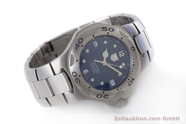 Used luxury watch Tag Heuer Kirium steel automatic Kal. ETA 2892-A2 Ref. WL5111  | 160517 03