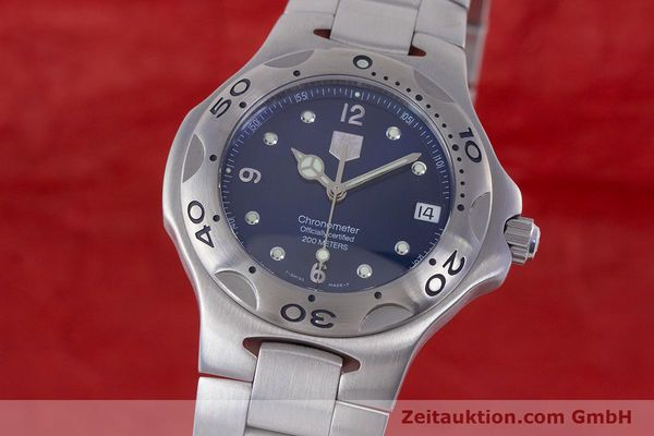 Used luxury watch Tag Heuer Kirium steel automatic Kal. ETA 2892-A2 Ref. WL5111  | 160517 04