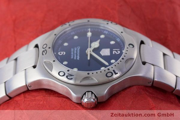 Used luxury watch Tag Heuer Kirium steel automatic Kal. ETA 2892-A2 Ref. WL5111  | 160517 05