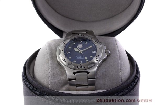 Used luxury watch Tag Heuer Kirium steel automatic Kal. ETA 2892-A2 Ref. WL5111  | 160517 07