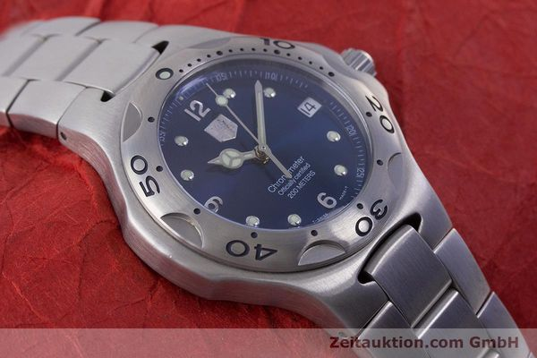 Used luxury watch Tag Heuer Kirium steel automatic Kal. ETA 2892-A2 Ref. WL5111  | 160517 16
