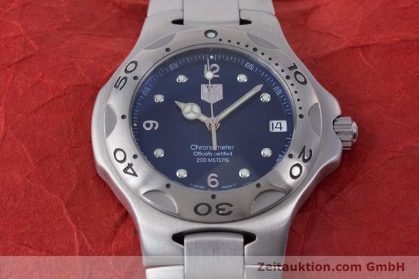 Used luxury watch Tag Heuer Kirium steel automatic Kal. ETA 2892-A2 Ref. WL5111  | 160517 17