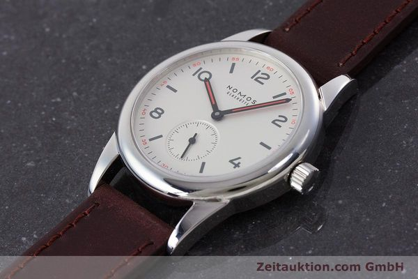 Used luxury watch Nomos Club steel manual winding Kal. Alpha  | 160523 01
