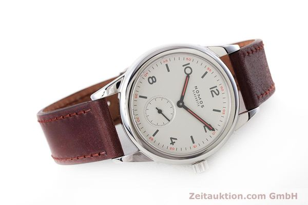 Used luxury watch Nomos Club steel manual winding Kal. Alpha  | 160523 03