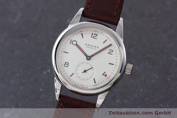 NOMOS CLUB ACERO CUERDA MANUAL KAL. ALPHA LP: 1080EUR [160523]