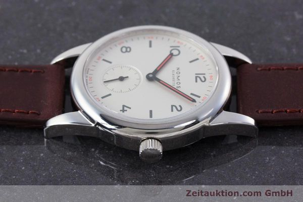Used luxury watch Nomos Club steel manual winding Kal. Alpha  | 160523 05
