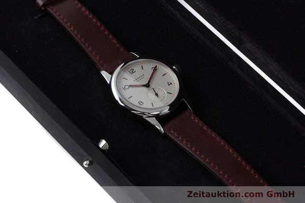 Used luxury watch Nomos Club steel manual winding Kal. Alpha  | 160523 07